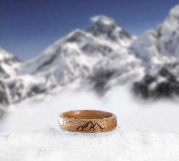 lesen prstan gore in hribi