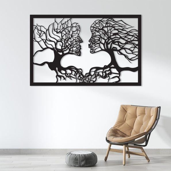 drevo življenja ljubezni slika dekoracija