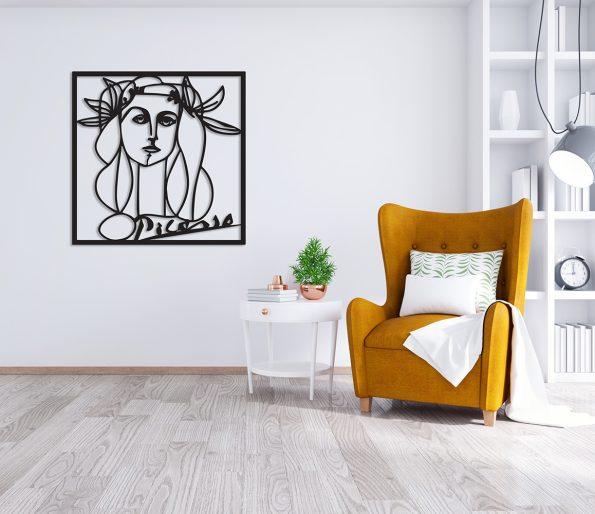 picasso lesena stenska dekoracija