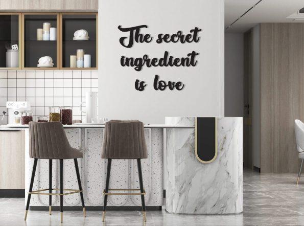 skrivna sestavina je ljubezen