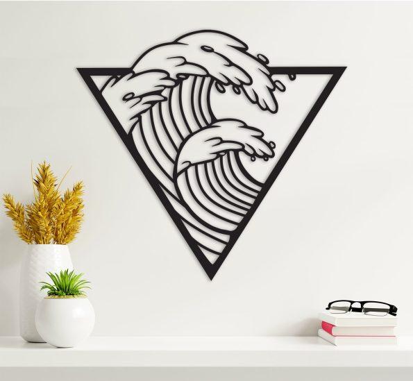 morje val dekoracija valovi