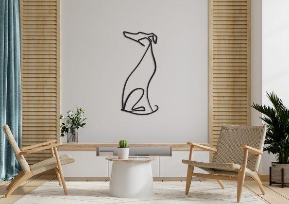 hrt dekoracija greyhound whippet